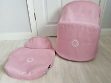 Bugaboo donkey soft pink extandable hood and apron fabrics!  Please read !