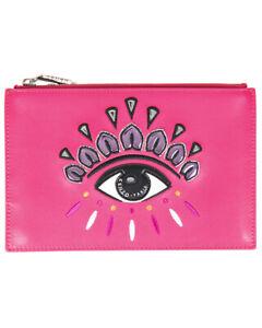 Borsa Pochette Kenzo Bag EYE CLUTCH Donna Rosa F852PM611L22 26 Tg. U