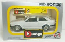 Bburago / Burago 1/24 Ford Escort XR3 Plain White -  Boxed not S1 RS Turbo