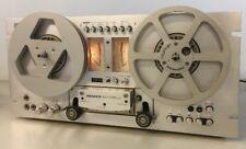 Pioneer RT-707 Reel Tape Deck With PR-85 Metal Take Up Working See Video Demo