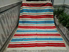 Vintage Moroccan Handmade Azilal Rug Beni Ourain Berber Wool Carpet