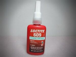 Loctite 609 Retaining Compound 60931, General Purpose 50ml
