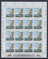 CANADA #1779 46¢ Marco Polo Full Pane MNH