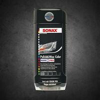 Sonax Pulido & Cera NANO PRO NEGRO 500ml 296100