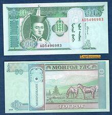 Mongolie - 10 Tugrik 2000 Neuf Unc - Mongolia