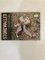 2018-19 Upper Deck UD Series 1 Stonewalled #SW-32 Mike Smith