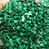 100g Tumbled A+++++ Natural Malachite Stones Gemstones Reiki Healing Crystal US