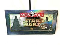 Monopoly Star Wars Classic Trilogy Edition 1997 Brand New sealed pewter tokens