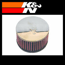 K&N RC-0860 Air Filter - Universal Chrome Filter - K and N Part