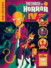 Simpsons Treehouse Of Horror IV - Glow In The Dark Silkscreen Poster