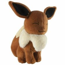 """Pokemon Plush Eevee OFFICALLY LICENSED TOMY 8"""" Soft Toy Figure NEW"""