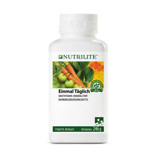AMWAY Einmal Täglich Großpackung NUTRILITE 180 Tabletten / 246 g