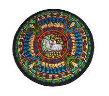 Holy Spirit Lamb Agnus Dei Seven Seals Bible Church Chrisitain Vestment Patch KT