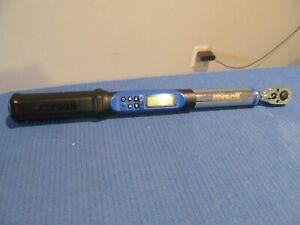 "KOBALT 856838 3/8"" DRIVE DIGITAL TORQUE WRENCH 5-100 FT/ LBS REVERSIBLE LCD"