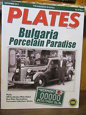 BULGARIAN MAP FLAG BULGARIA Heavy Duty Chrome Metal License Plate Frame