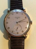 LONGINES Watch cal. 27m 18 KT Yellow Gold