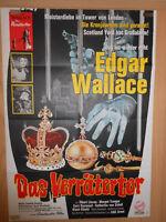 Edgar Wallace Das Verrätertor Filmplakat 60x80cm gefaltet