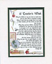 A Gift Present Poem For An Elementary School Teacher #173 Teacher's Graduation