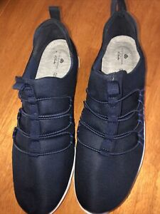 Clarks Cloudsteppers Women's Shoes Navy Size 10M Slip On
