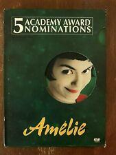 Amelie (Dvd, 2002, 2-Disc Set, Special Edition)*Audrey Tautou Mathieu Kassovitz