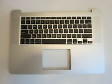 """NEW Macbook Pro 15"""" Retina A1398 Topcase Palmrest US Keyboard 2015 USA 661-02536"""