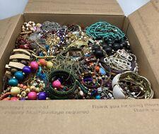 Grab Bag Bulk Lot 18 Lb + Mixed Jewelry Accessories Craft Harvest Repair Resale