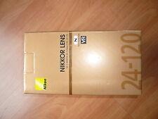 L'objetctif Nikon 24-120 mm / F4,0 AF-S G ED VR FX Nano 100% Neuf