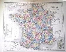 Ansichten & Landkarten von Frankreich für Stahlstich