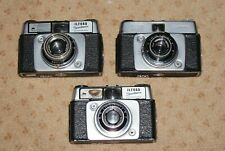 3 Ilford Sportsman 35mm Camera Dacora 45mm F2.8 Lens Offered for Repair/Spares