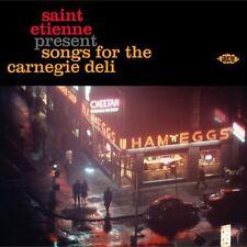 Saint Etienne Present Songs For The Carnegie Deli CD Various Pop Soul New Sealed