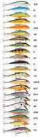 Rapala Countdown Leurre 7CM - Brochet Perche Saumon Bass Pêche Leurre