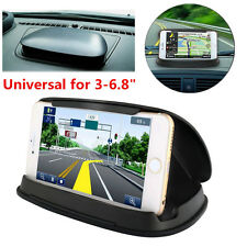 Car Dashboard GPS Navigation Anti-Slip Silicone Cell Phone Holder Mount Bracket