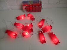 Deko Girlande Lichterkette Bonbon Party Dekoration Kinderzimmer Garten Partydeko