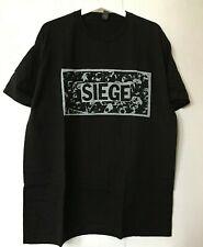 Siege 2019 tour t-shirt Dropdead Grindcore Power Violence Punk MITB Crossed Out