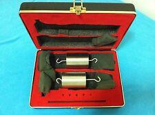 AMETEK TWO STAINLESS STEEL WEIGHTS 1 Kg Each