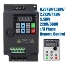 220V 380V 1.5KW 2.2KW 4KW 5.5KW Frequenzumrichter Frequenzumwandler Inverter VFD