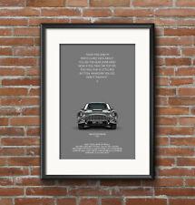 Goldfinger, James Bond, 007, Aston Martin, DB5, Spy, Movie Art, A3 Art Print