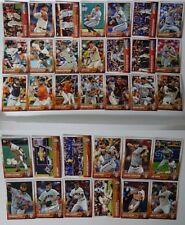 2015 Topps Series 1 & 2 San Francisco Giants Team Set of 33 Baseball Cards