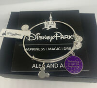 ALEX AND ANI DISNEY PURPLE Believing is Just the Beginning SILVER - NWT