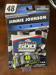 2018 Jimmie Johnson Lowes For Pros Daytona 500 1:64 scale car NASCAR Authentics