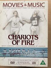 CHARIOTS OF FIRE 1981 British Olympic Drama Rare UK DVD + Soundtrack CD Box Set