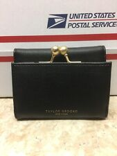 Taylor Brooke New York Black Floral Wallet