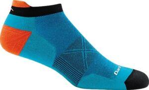 Darn Tough Unisex 186366 Vertex No Show Tab Ultra-Light Sock Teal Size M