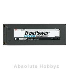 TrakPower LiPo 2S 7.4V 6000mAh 80C Hard Case 4mm - TKPC0515