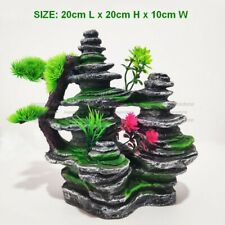 Big Aquarium Rockery Ornament Mountain Tree Fish Tank Decorations Accessories