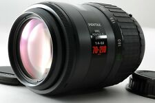 [Mint++]SMC PENTAX-F K/AF 70-210mm AF Telephoto Zoom Lens +Cap FROM JAPAN