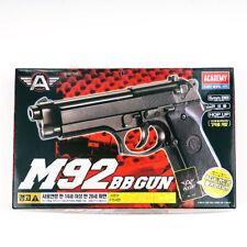 ACADEMY M92 Airsoft Pistol BB Gun 6mm Spring Hop Up System ABS #17212