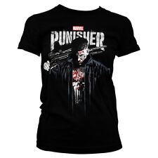 Marvel's The Punisher Official Licensed Ladies/Women's Fitted T-Shirt