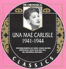 UNA MAE CARLISLE 1941-44-CLASSICS CD NEW SEALED LONG OUT OF PRINT