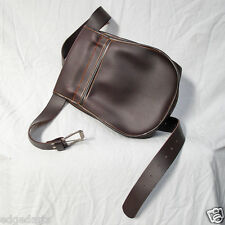 Leather Shotgun Cartridge Pouch / Bag and Belt. Made in Spain. Shooting
